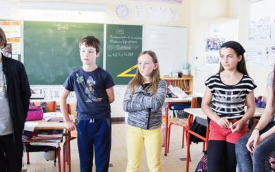 De la recherche fondamentale à l'école : Les chercheurs du CoReCre expérimentent en école !